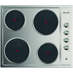 Stainless Steel Electric Hob with 4 Heating plate, Pi-Nc60 4ers