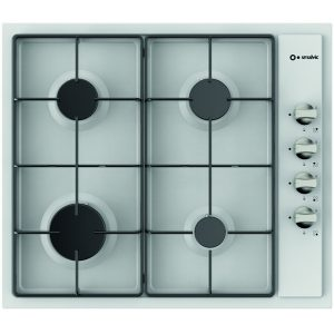 4 Burners Enamelled Gas Hob,Pi-Nc63 4g Vs White
