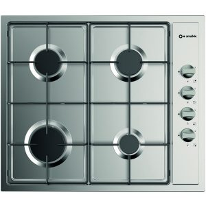 Lateral control 4 Burners 60 cm Gas Stainless Steel Hob,  Pi-Nc63 4g Vs Inox
