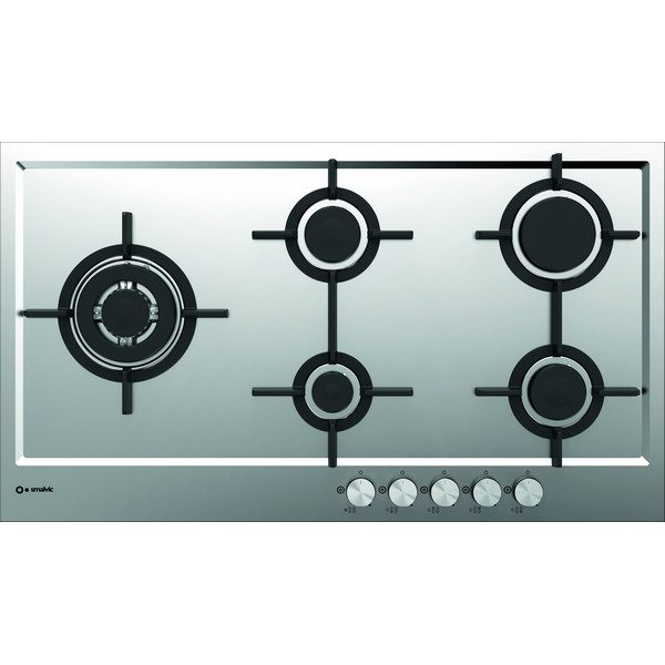 Filotop Stainless steel Hob 90 Cm, Pft-Mf90 4gtcs Vs -Gg