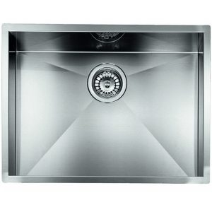 "Compact Kitchen Sink With Single Basin Quadra Basin Ix 3 ""40x52x19"