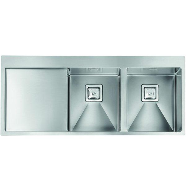 Kitchen Sink With Left Drainer  Batik 116x50 2vd