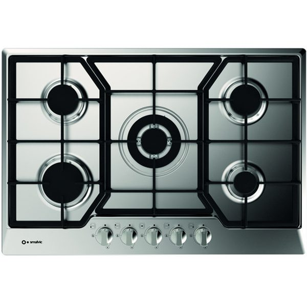 5 Burners Stainless Steel Gas Hob Pd-75v4g1tc Stainless Gl