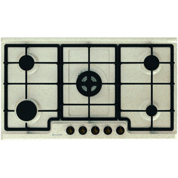 Enamelled Hob 5 Burners Pd-90v4g1dc Avena 416 Gg-Mr62