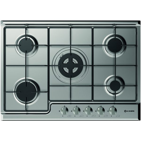 Gas Stainless steel Hob 5 Burners Pd-70v4g1dc Inox