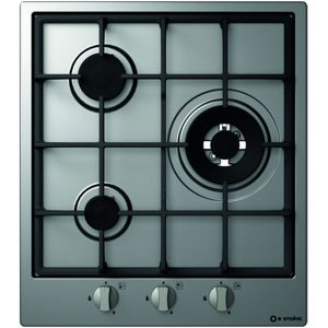 45cm Stainless steel Hob, 3 Burners, Pi-Sd45 2g1dcc Vs Stainless steel -Gg