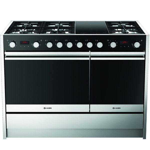 Stainless steel Free Standing Kitchen with double Ovens,Cu Less 1200 Mt 6g2i