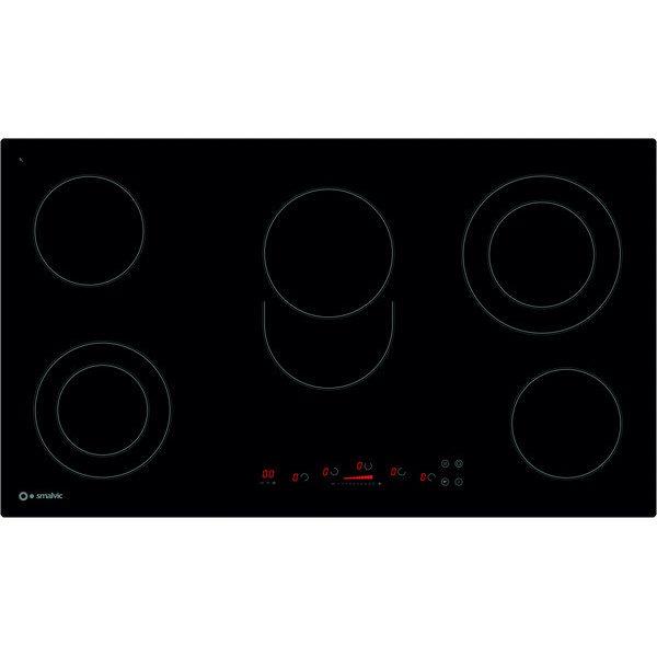 90 cm Induction Hob with 5 Burners  Pvc 90 5hl Bto953pet Black