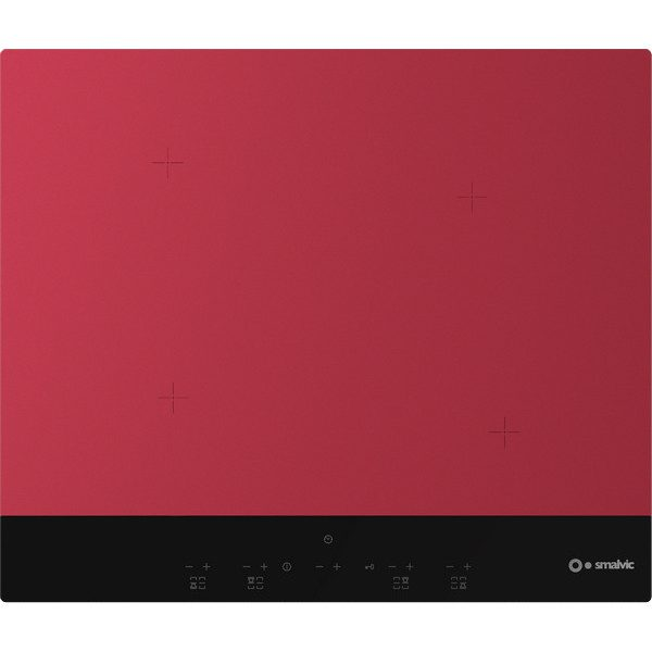 Gres Induction Hob PG60-4IND Red