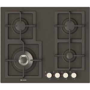 4 Burners Enamelled Hob Pi-Z60v3g1tc Quadro slate color
