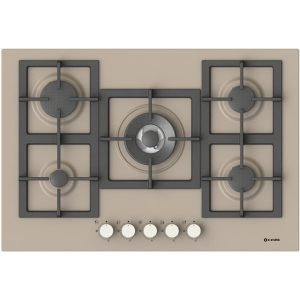 Hob with high Efficiency Burners  Pi-Z75v4g1tc Quadro Dove grey