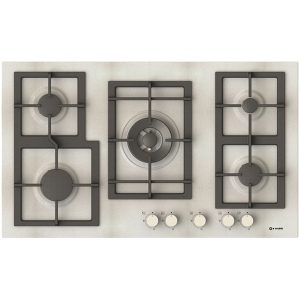 Triple ring burner Gas Hob Pi-Z90v4g1tc Quadro Pure white