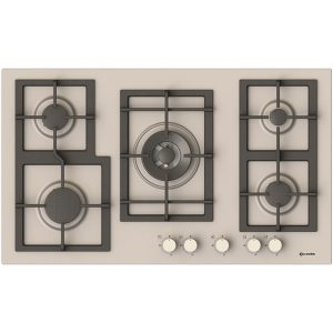 90 cm 5 Burners Stainless steeel Hob-Pi-Z90v4g1tc Quadro