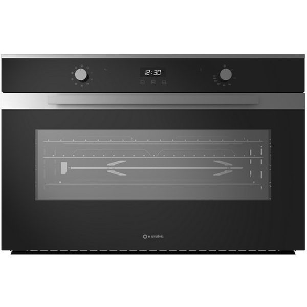 90 cm Built-in Electric oven Fi-95mt B Al6045 Black