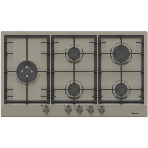90 cm Stainless steel Hob with Triple Ring Burner Pi-Zw90v4g1tc Inox
