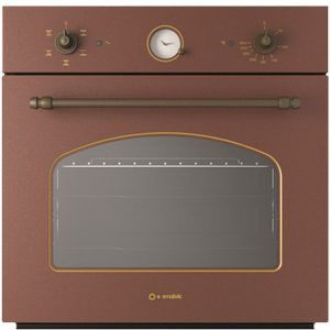 Vintage Electric Oven With Pull-Out Glasses Fi-64wtr Country Copper