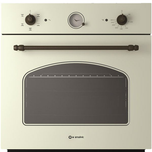 Vintage Electric Oven, Energy efficiency A, Fi-64wtr Country Old White