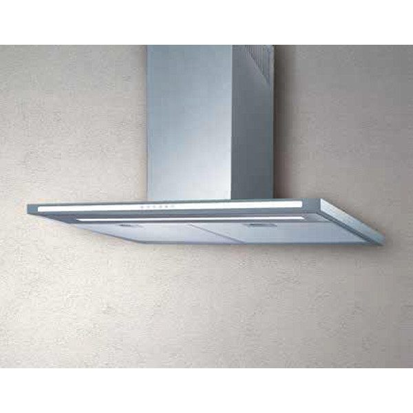 Low consumption Glass  Kitchen Hood  Flat White 60 Cm 700 Mc