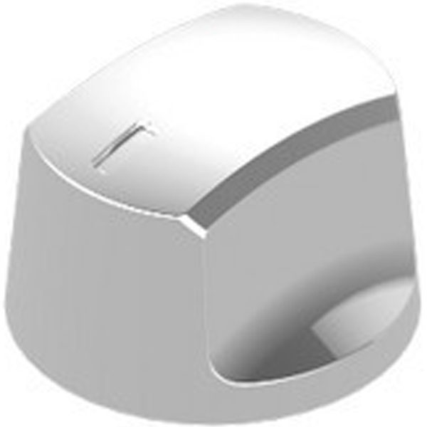Satin Nickel Knob Mt Spe 1.5 Knob